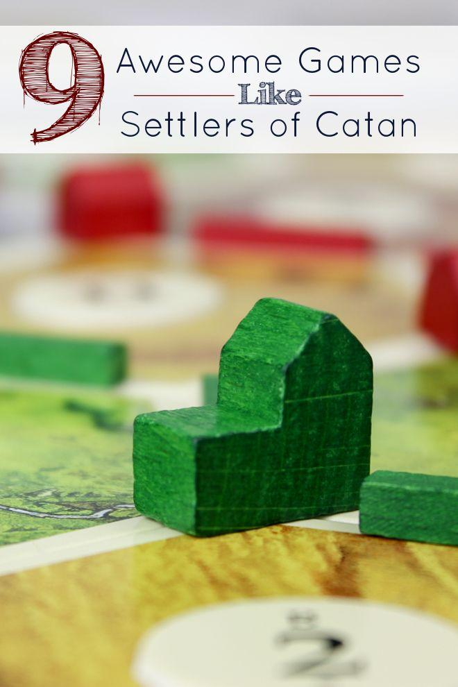 Games like settlers of catan