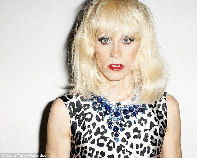 Boob drag dress heel julian make makeover skirt up wig pic 720