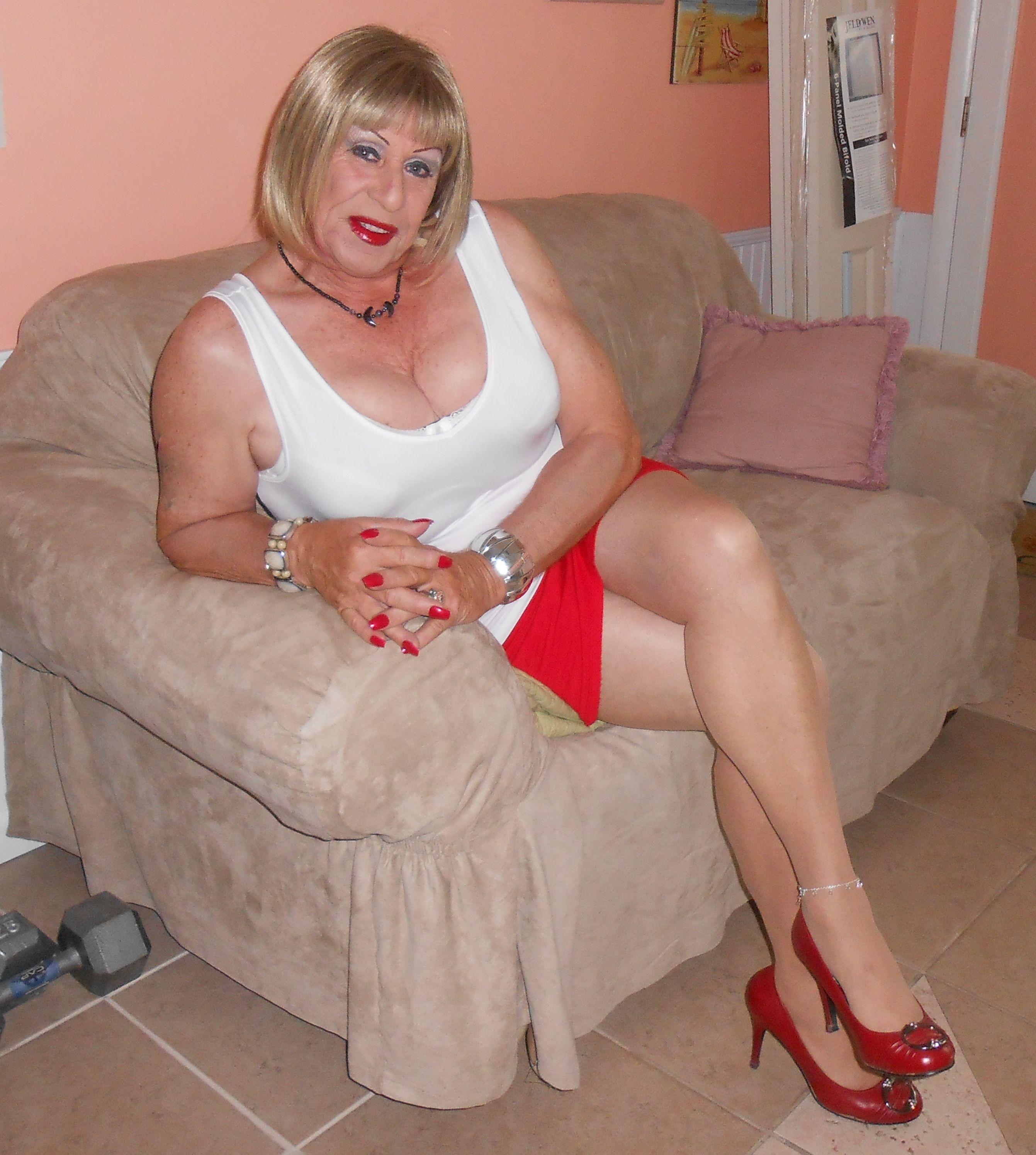 Big blonde bondage tit