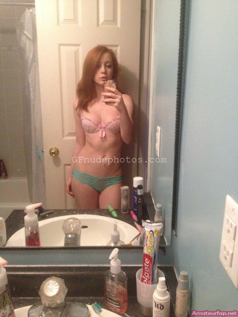 Partially nude red heads remarkable