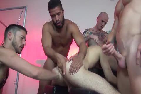 Nude gang bang Free