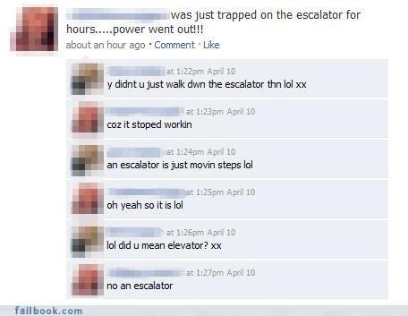 best of Escalator joke Broken