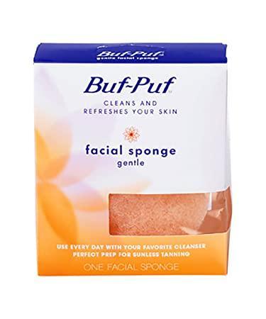 Ref reccomend Gentle facial sponge
