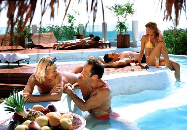 Nude at desire resort
