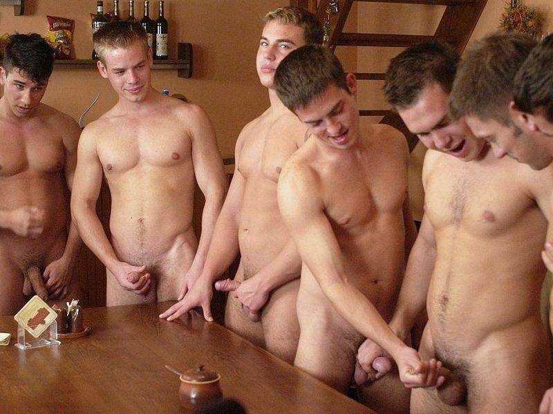 from Damian gay guys jerk off contest