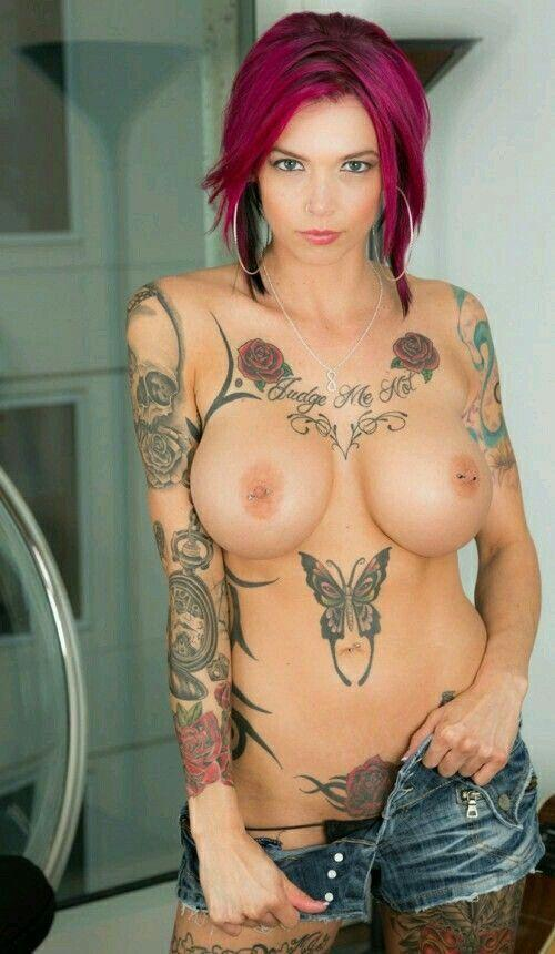 Chardonnay reccomend Naked boobs with a tatto