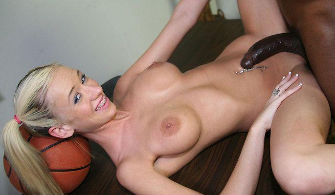 Interracial movie blonde