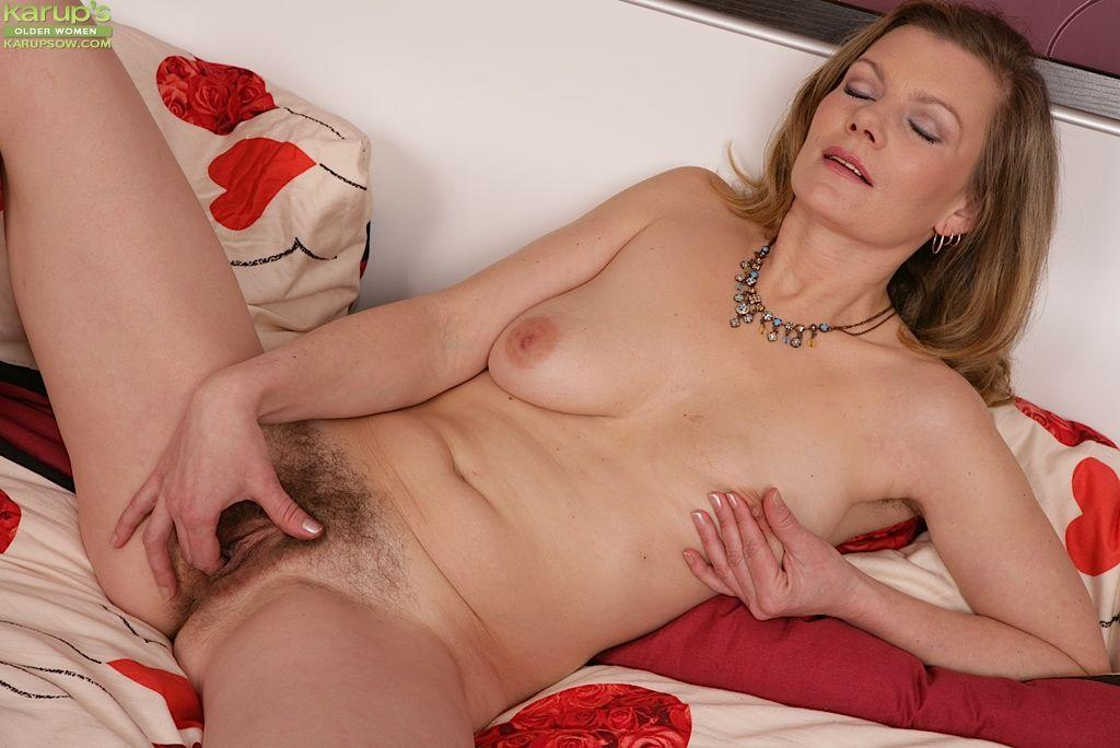 Mature masturbating older women