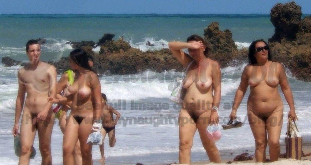 best of Tits photos nudist Saggy family