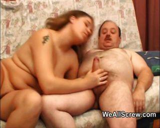 Fat man and fat woman sex