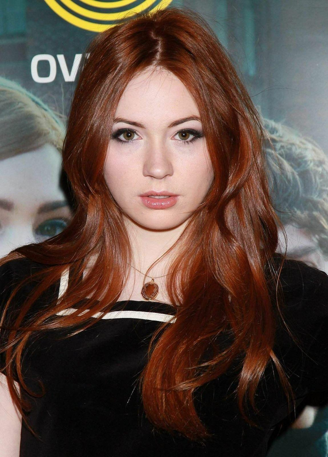 Speaking, advise karen gillan facial cumshot and
