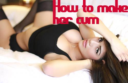 Where do girls cum from