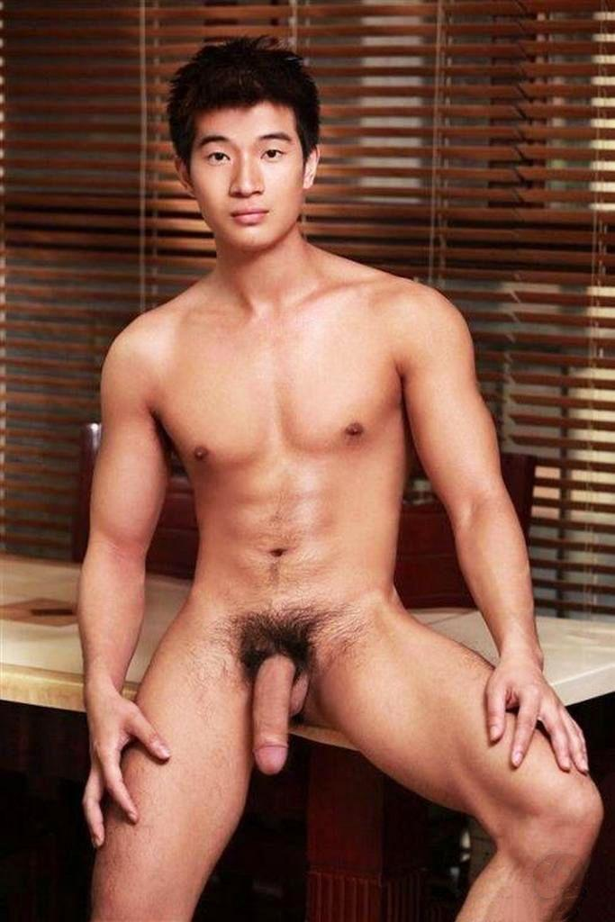 Sexy naked men frontal