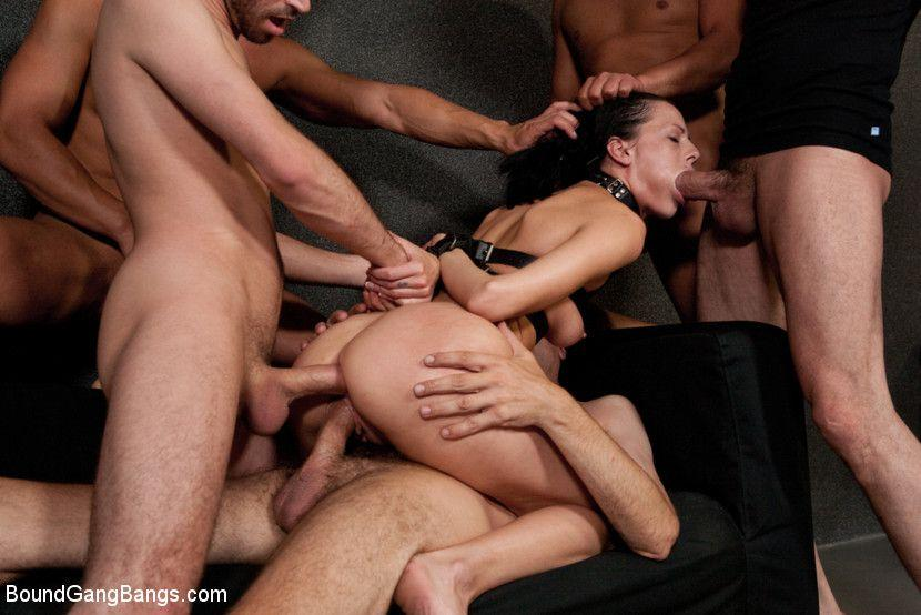 Erotic pictures gang bang site, with