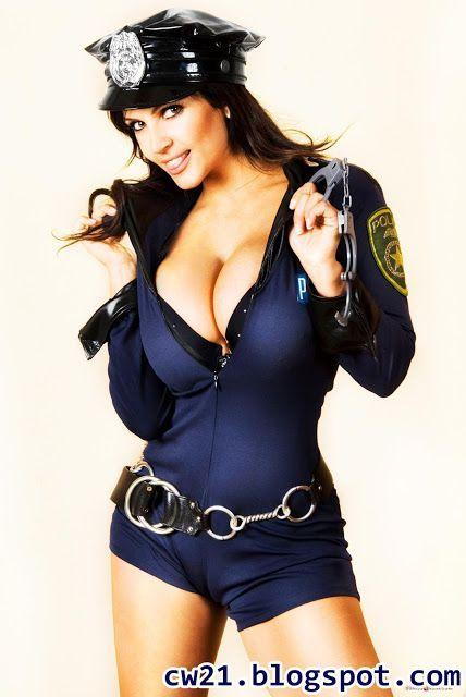 Busty cops preview