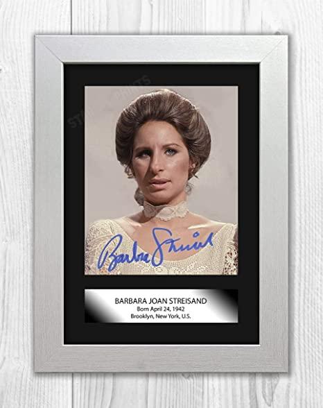 Barbra streisand funny girl autograph