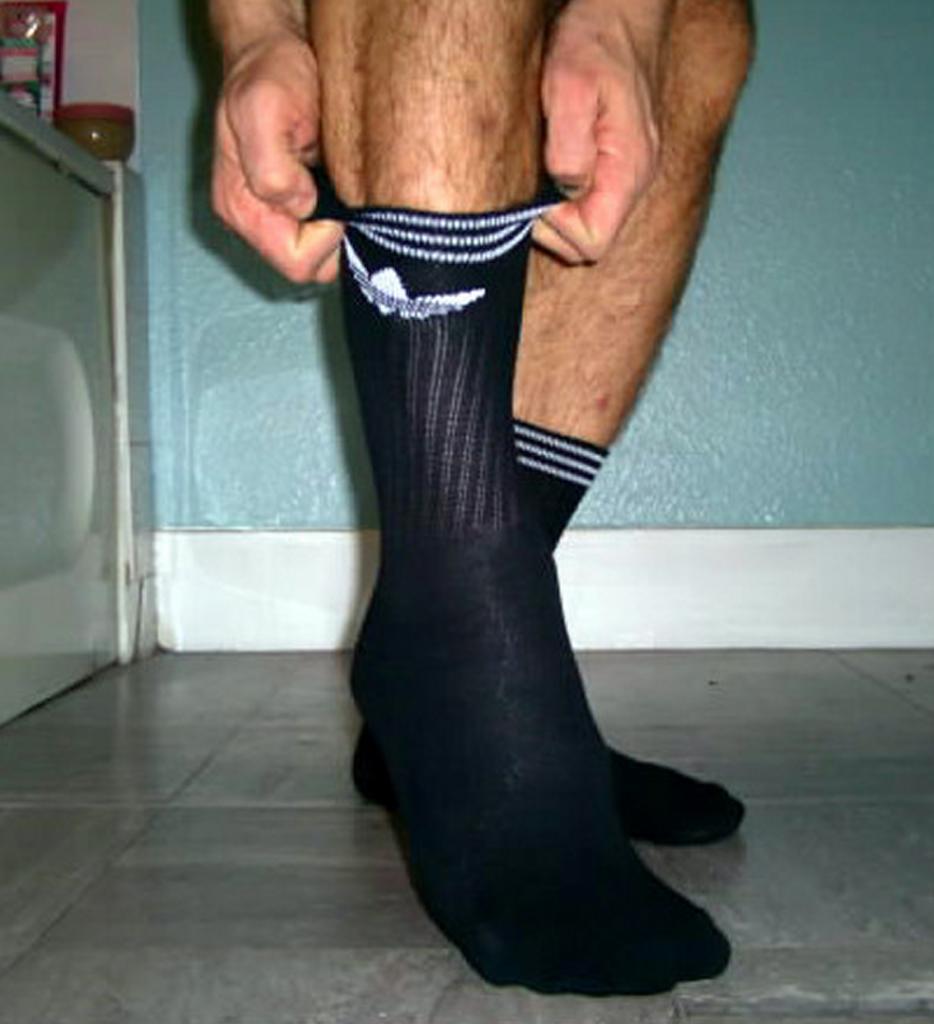 Cheeto reccomend Fetish guy picture sock