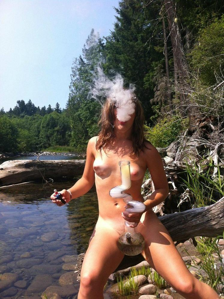 Opinion you Hot naked girls smoking a joint matchless