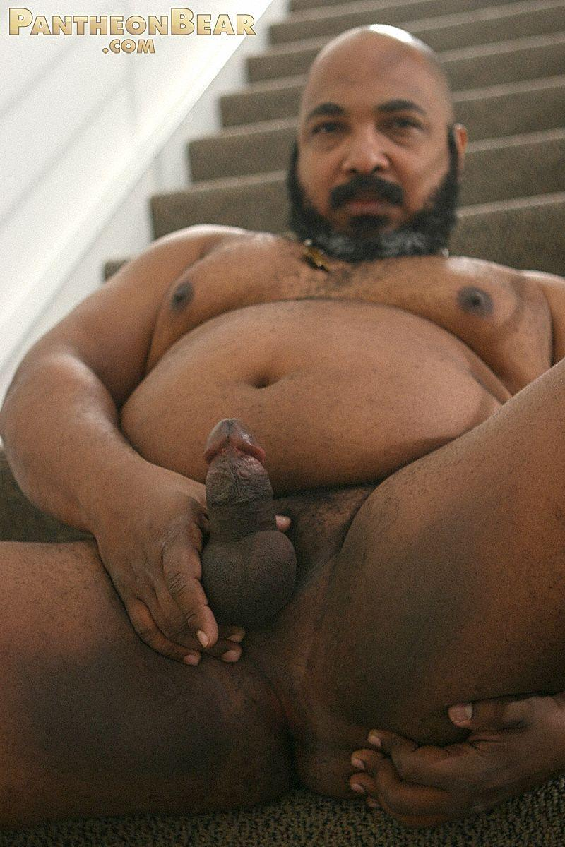 Old fat black gay men