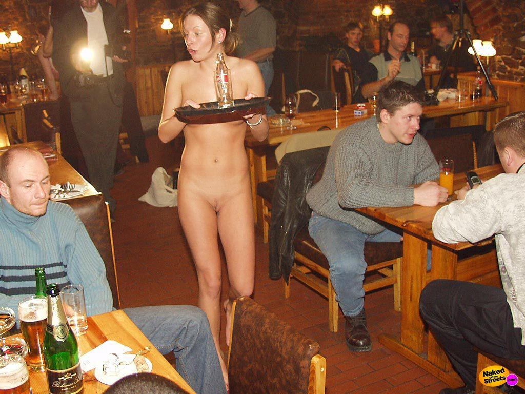 Naked girl sit on dick