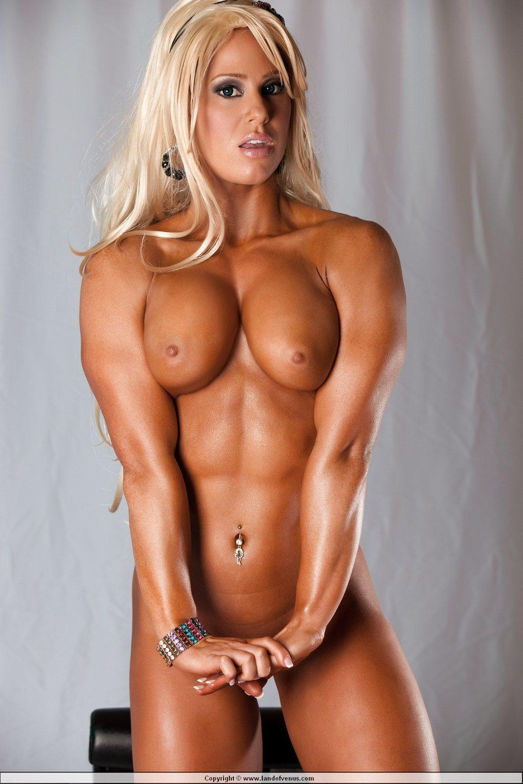 Gallery muscle nude woman