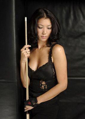 Major L. reccomend Asian pool player
