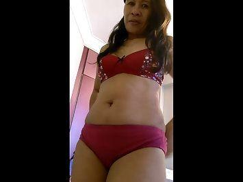 Necessary words... Wife in red panties nude useful question