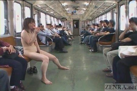 Women on trains Nude