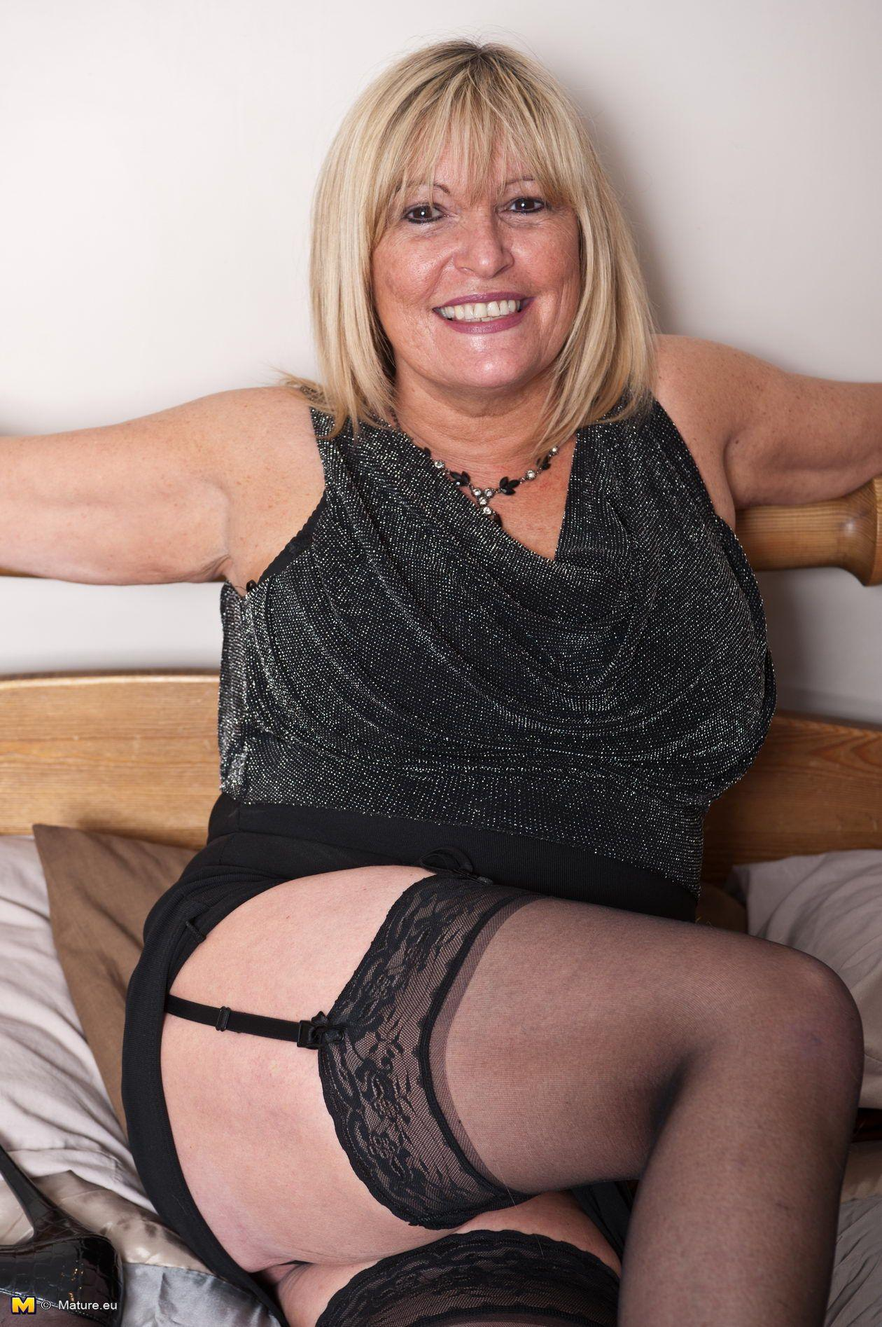 Blonde lady mature sex