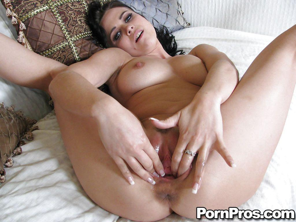 Nude wife at home