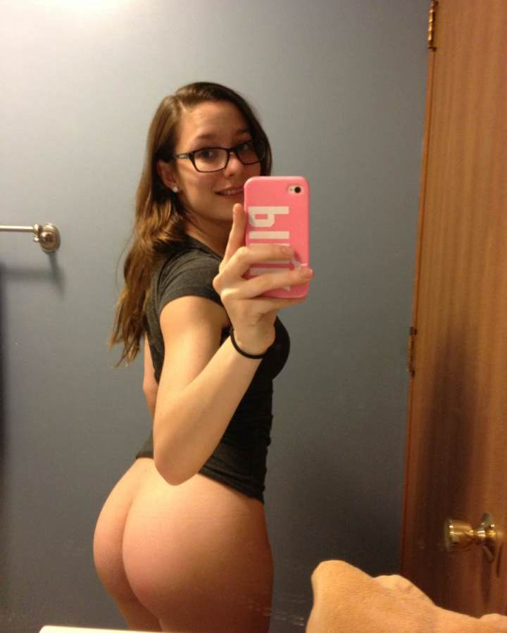 Nude small ass mirror pick
