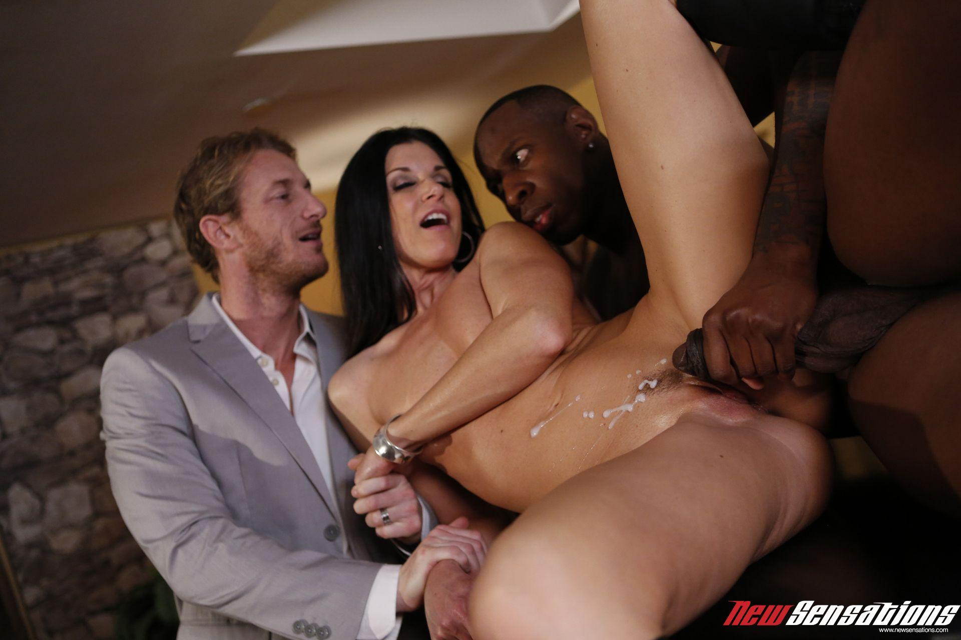 Shared wife interracial sex part