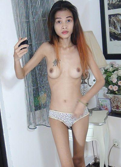 Nude and eat anal