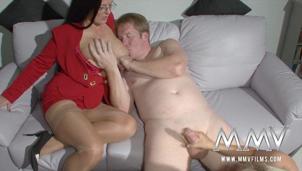 Wife forced into a gangbang