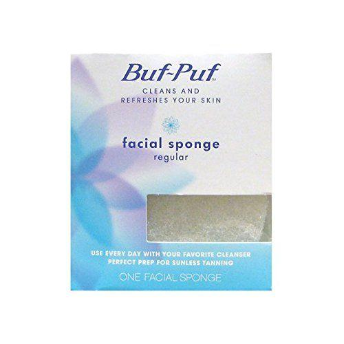 Buf-puf facial cleanser