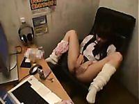 security cam masturbation