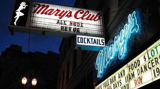 best of Oregon Club strip in