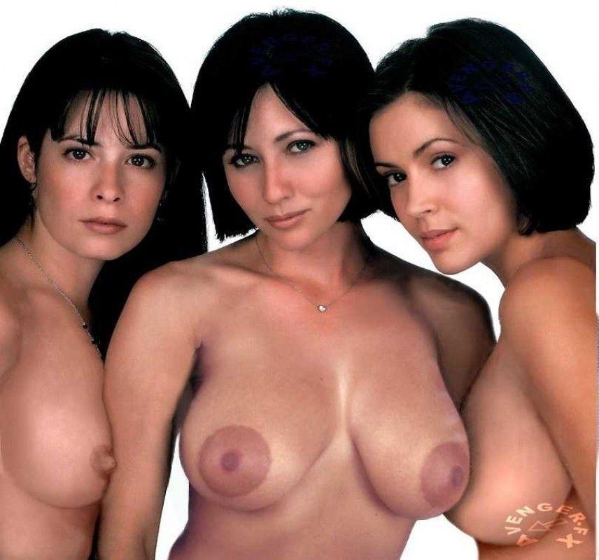 Mädchen aus der Fernsehsendung bezauberten nackt oben ohne — bild 13
