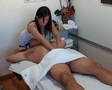 Doubtful. handjob at massage parlor video something