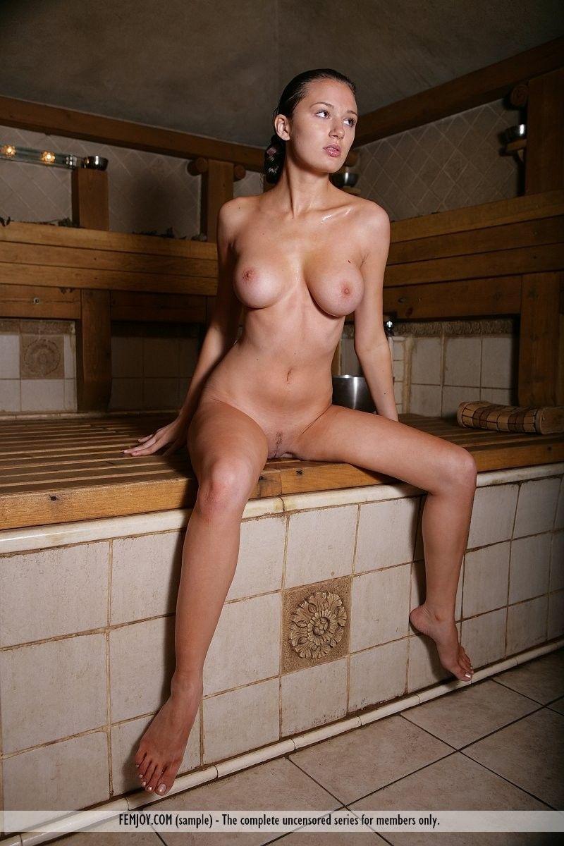 Finish tits naked
