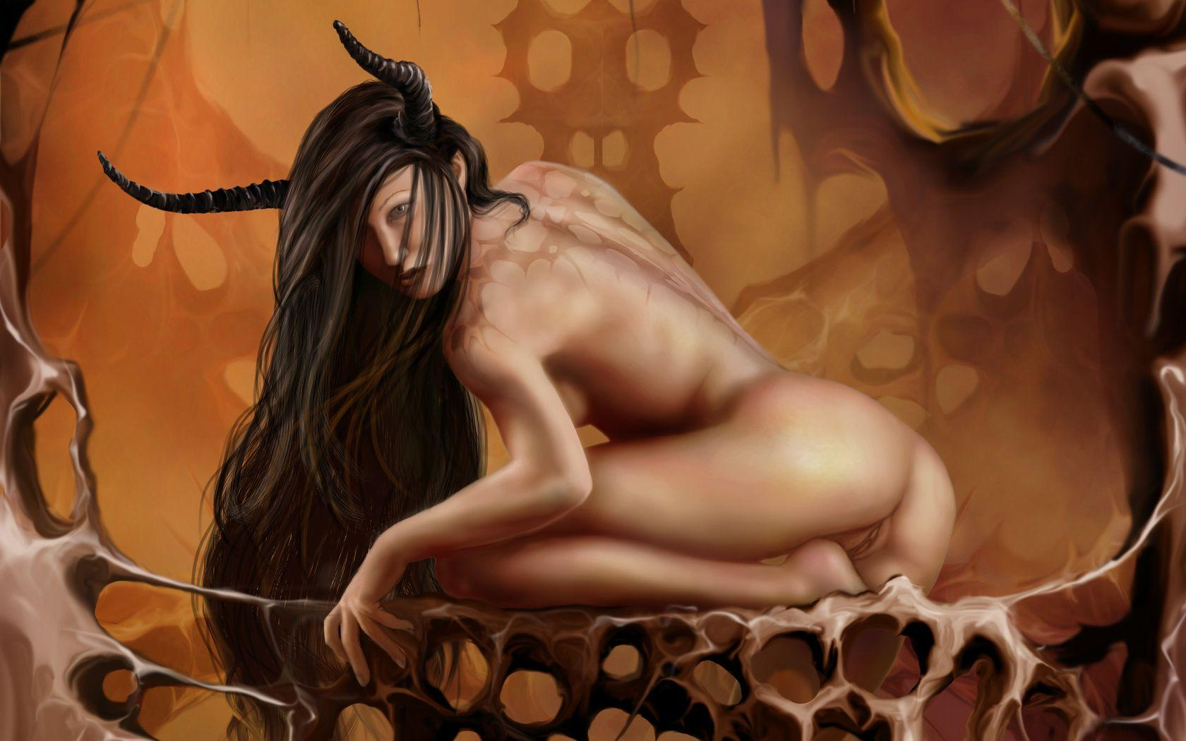 Fantasy Art With Pussy