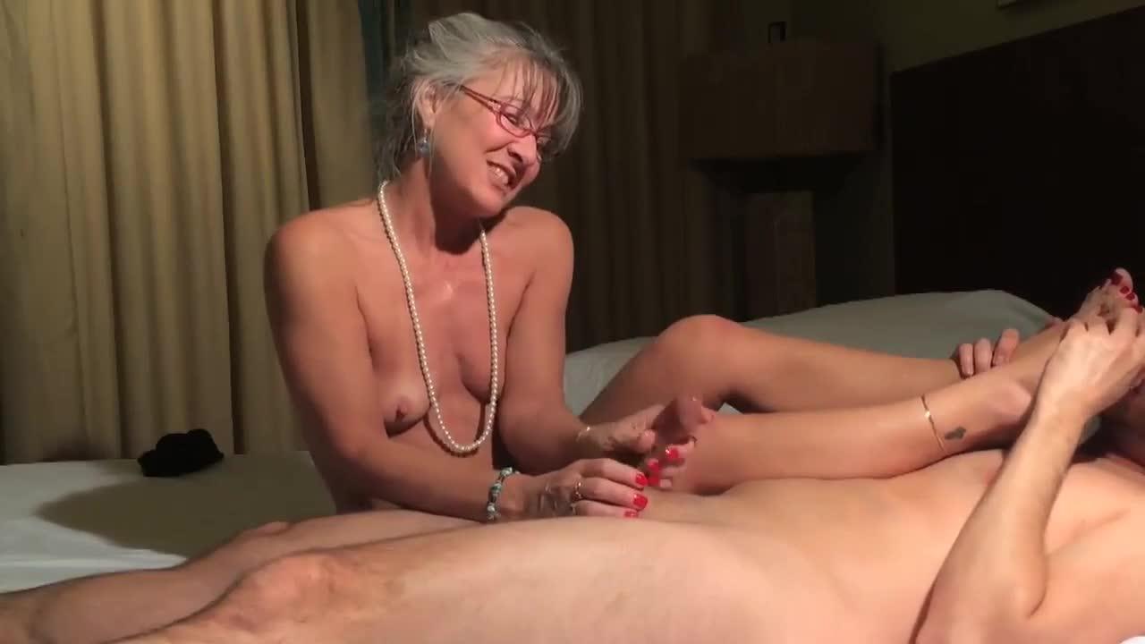Benging hot granny gif