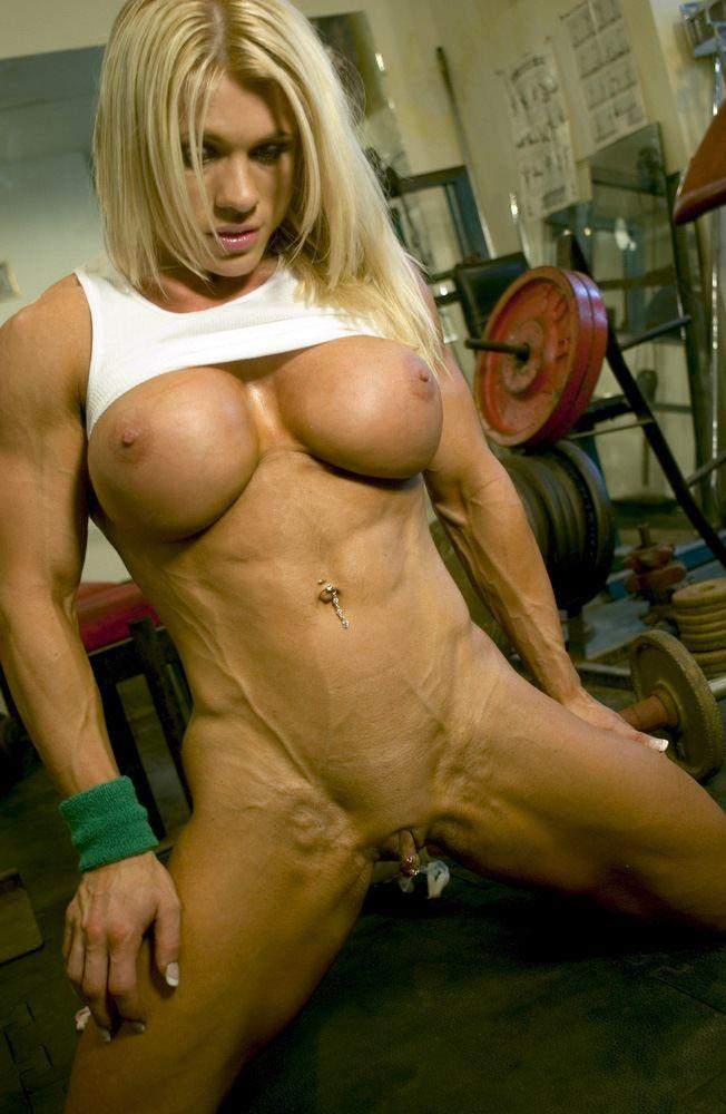 Variant Muscle women with big boobs think