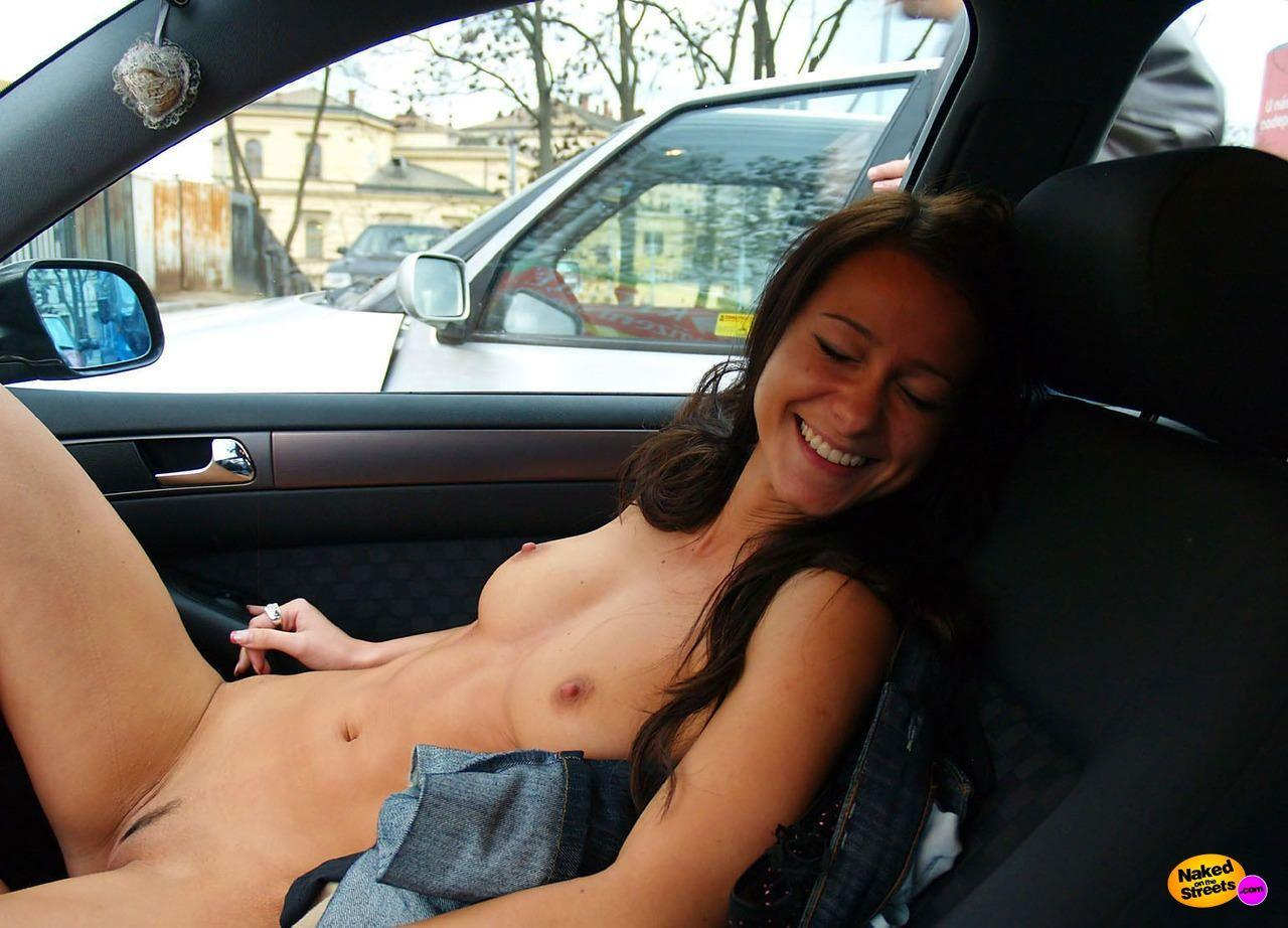 Mine, someone Hot nude girl in car