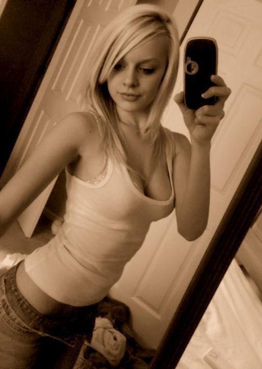 Hot blonde collage girls