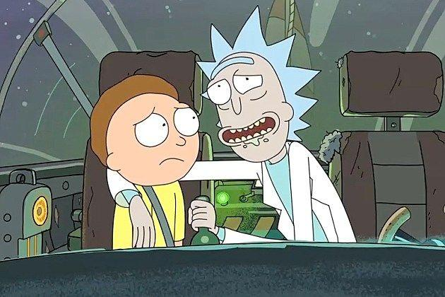 best of Morty Rick bowie and david