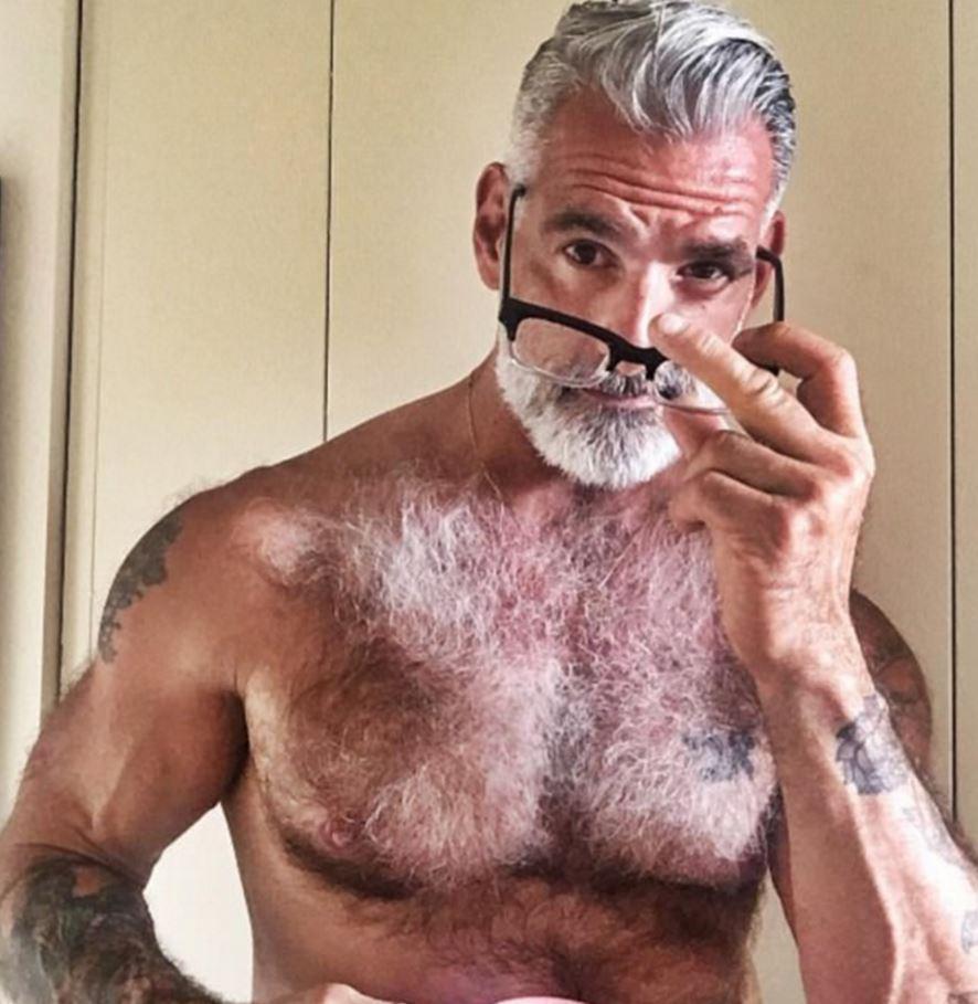 Old Man Best Porn sexy old man pose . hot porno.