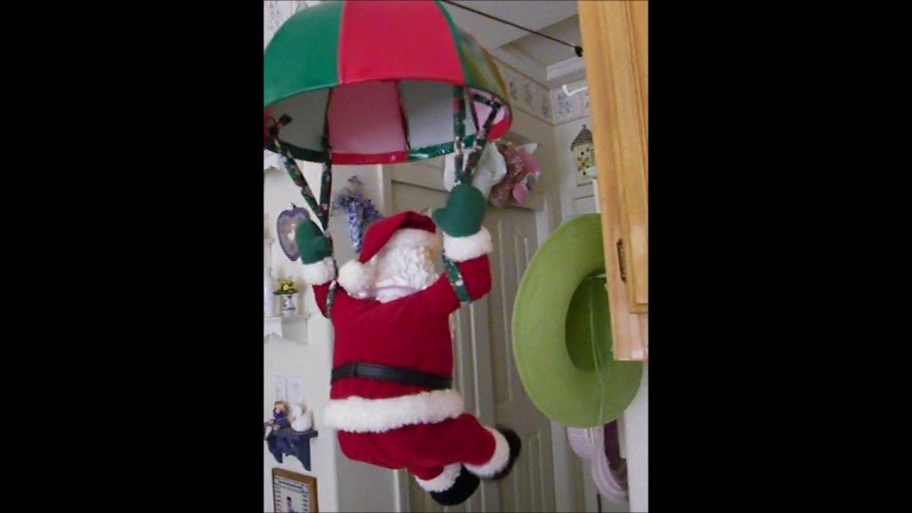 best of Santa Swinging claus parachuting
