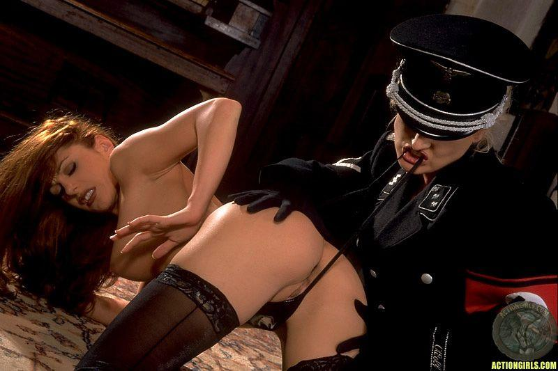 Porn Nazi uniform woman in